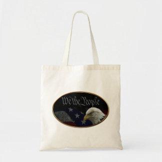 We The People Emblem Budget Tote Bag