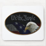 We The People Emblem Mouse Pads