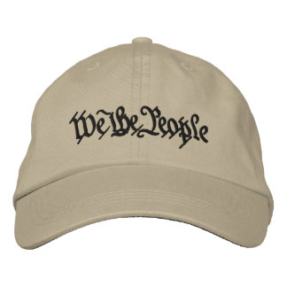 We the People Embroidered Baseball Hat