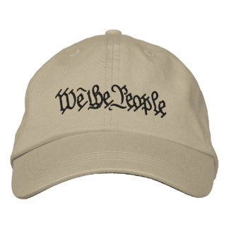 We The People Embroidered Hat