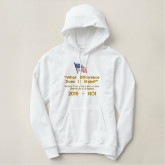WE THE PEOPLE......................... EMBROIDERED HOODIE