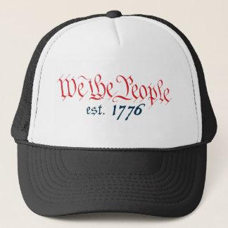 We The People est. 1776 Trucker Hat