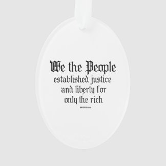 We the people establish justice and liberty