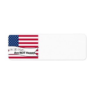 We The People Flag Label