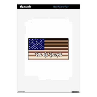 We the People Flag Skins For iPad 2