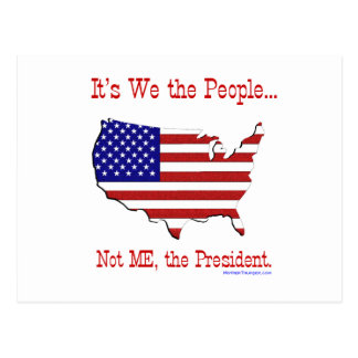 We the People II Postcard