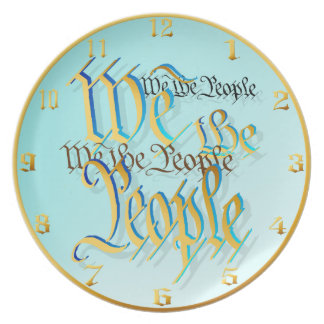 We The People-in gold Plate