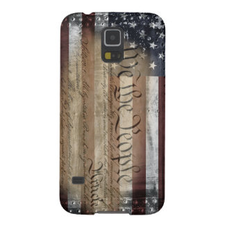We The People Industrial American Flag Case s5 Galaxy S5 Case