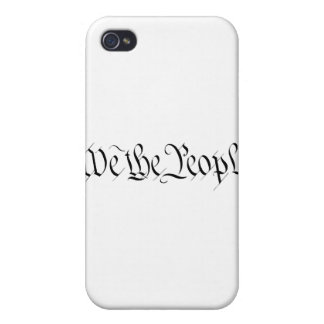 We The People Cases For iPhone 4
