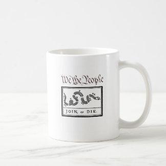 We the People... Join or Die Coffee Mug