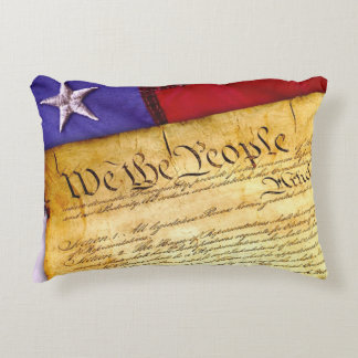 """We the People.."" ,July 4th, Accent Pillow"
