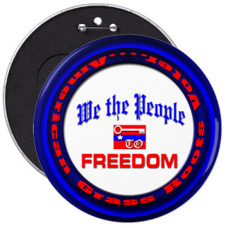 We the People Key to Freedom Button