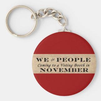 We the People Keychain