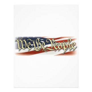We The People Letterhead