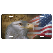 We The People License Plate