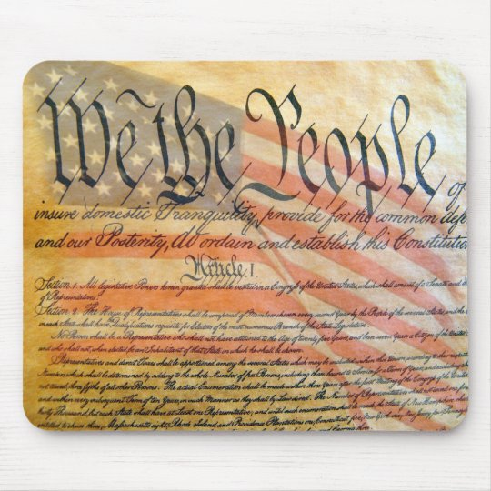 """We The People"" Mouse Pad"
