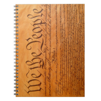 We the People note book