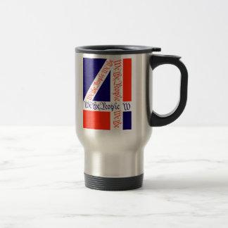 We the People on July 4 Coffee Mugs