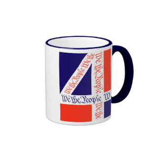 We the People on July 4 Mug
