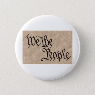 We The People / Parchment Button