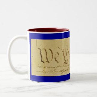 We The People Parchment Coffee Mug