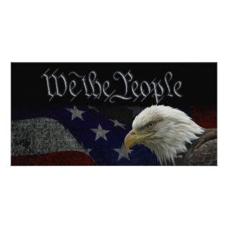 We The People Patriotic Card