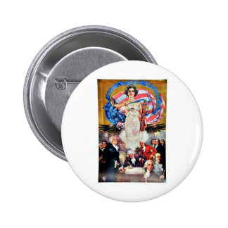 We The People Pinback Button