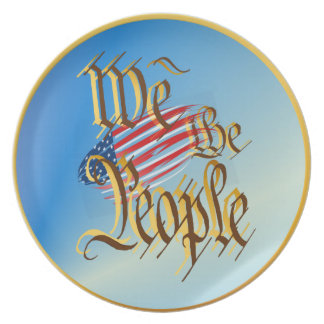 We The People Plate