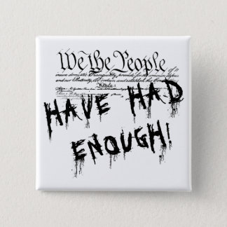 We the people!!. Political Protest Button