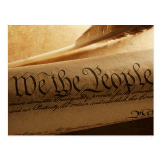 We The People Postcard