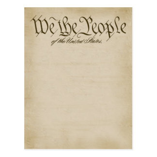 We The People Postcards