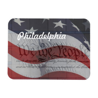We the People Rectangular Magnets
