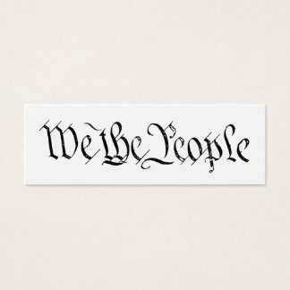 We the People Profile Card