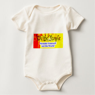 We The People Remake Yourself The MUSEUM Zazzle Gi Baby Bodysuit
