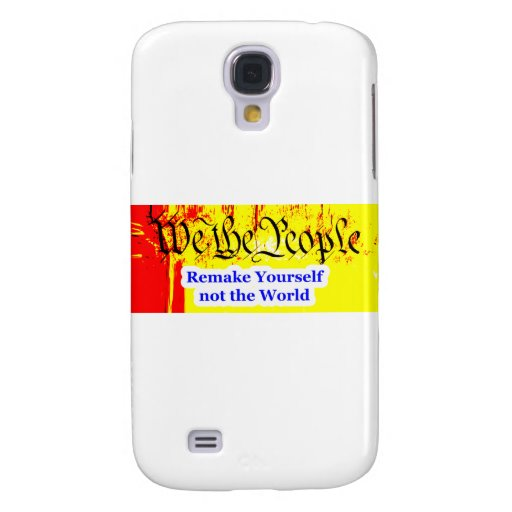 We The People Remake Yourself The MUSEUM Zazzle Gi Samsung Galaxy S4 Cases