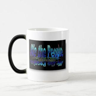 ~ We The People,,* Series: Demand #Justice Magic Mug
