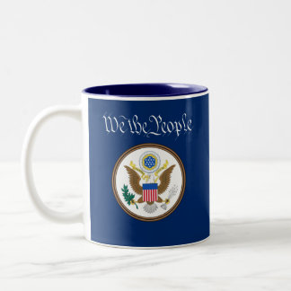 We The People/Sheeple Mug