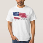 """&quot;We the People&quot; T-Shirt<br><div class=""""desc"""">The first three [most important] words of the United States constitution (preamble), &quot;We the people of the United States, in order to form a more perfect union, establish justice, insure domestic tranquility, provide for the common defense, promote the general welfare, and secure the blessings of liberty to ourselves and our...</div>"""