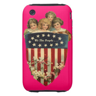 WE THE PEOPLE TOUGH iPhone 3 COVERS