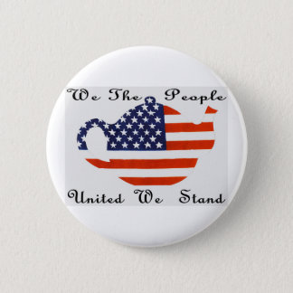 We The People  United  We Stand Button