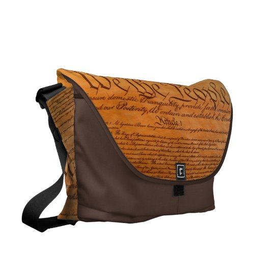 We The People US Constitution Messenger Bag