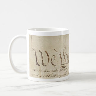 'We the People' US Constitution Mug