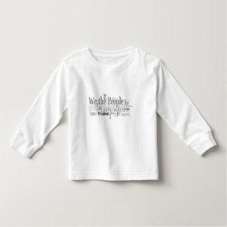 We the People - US Constitution words libertarian Toddler T-shirt