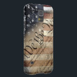 "We The People Vintage American Flag Galaxy S5 Case For Galaxy S5<br><div class=""desc"">Show your Liberty with pride!</div>"