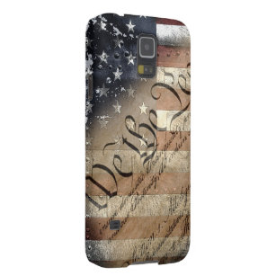 We The People Vintage American Flag Galaxy S5 Case For Galaxy S5