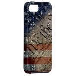 We The People Vintage American Flag iPhone 5 Covers