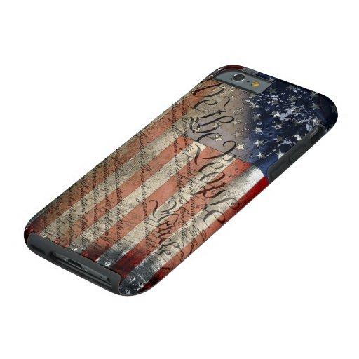 We The People Vintage American Flag iPhone 6 Case