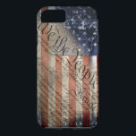 "We The People Vintage American Flag iPhone 7 Case<br><div class=""desc"">Show Your Liberty With Pride!</div>"