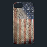 """We The People Vintage American Flag iPhone 7 Case<br><div class=""""desc"""">Show Your Liberty With Pride!</div>"""