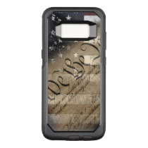 We The People Vintage American Flag OtterBox Commuter Samsung Galaxy S8 Case